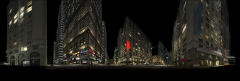 Lexus - Reactions : 360 Panoramic city render